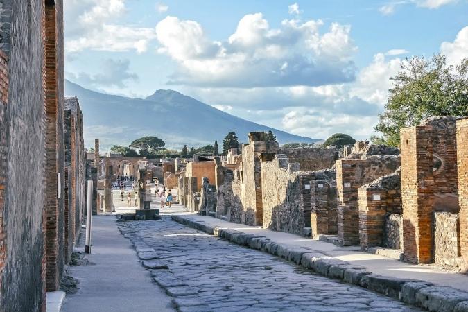Pompei e la Reggia di Caserta Ottobre 2020