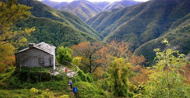 Itinerario trekking al passo del Mugello Ottobre 2019