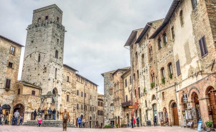 San Gimignano e Volterra Novembre 2020
