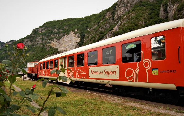 il treno dei sapori sul lago di iseo Ottobre 2021